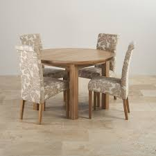 Modern Dining Room With Rectangular Solid Wood Table Set With Solid Oak Dining Room Table