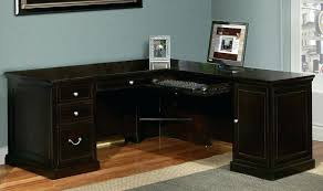 l shaped desk for home office. Home Office L Shaped Desk Furniture Student Black With Drawers Short Small Space For E
