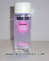 maybelline clean express total clean eye lip make up remover review