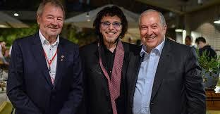 Armenian President congratulates Deep Purple's Ian <b>Gillan on</b> 75th ...