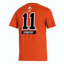 Shop has all the philadelphia flyers gear you want and get free shipping. Philadelphia Flyers Men S Reverse Retro Konecny Player Tee By Adidas Wells Fargo Center Official Online Store