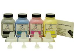 4-Color Laser Toner Refill Kit for BROTHER <b>TN</b>-<b>221</b>, <b>TN</b>-<b>225</b>, and ...