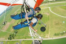 hang gliding lesson
