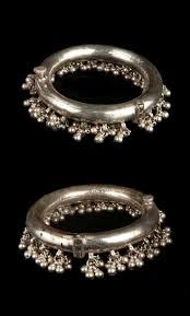 Paijan Design For Baby India Rajasthan Jaipur Pair Of Bracelets Silver