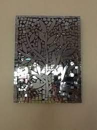 mirror mosaic broken mirror art