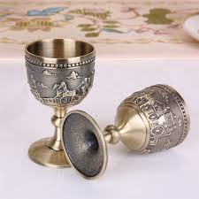 <b>Classical</b> Metal Cup <b>Handmade</b> Small Goblet Household <b>Copper</b> ...