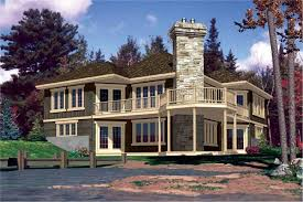 Lakefront Home Plans  Home Design 641Lake Front Home Plans