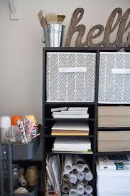 closet organization ideas for women. Craft Closet Organization Ideas - Book Shelf, Fabric Bins, Utility Cart For Women