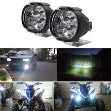 <b>2Pcs Car</b> Motorcycle <b>LED</b> External Fog <b>Lights Waterproof Lamp</b> ...