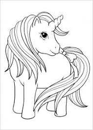 Vector white colorless unicorn beautiful for girls, layout for coloring and design. Unicorns Free Printable Coloring Pages For Kids