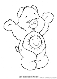 Small Picture 241 best Care Bears Coloring Sheets images on Pinterest Care