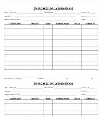 Here Is Preview Of Another Sample Volunteer Sign In Sheet Template ...