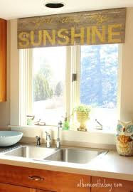 Kitchen Window Treatments Home Decoration Diy Living Room Bay Window Treatment Ideas
