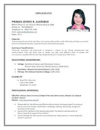 Make Me A Resume To Create A Resume How To Build A College Resumes