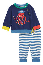 Mini Boden Octopus Sweater Pants Set Baby Boys Toddler Boys Nordstrom Rack