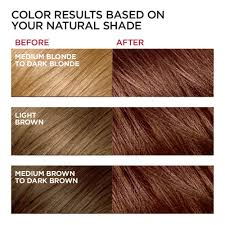 Loreal Paris Excellence Creme Permanent Hair Color 6rb Light Reddish Brown 100 Gray Coverage Hair Dye Pack Of 1