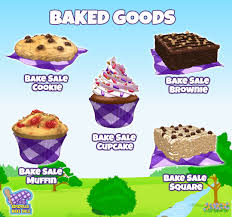 baking sale the kinzville bake sale starts today wkn webkinz newz
