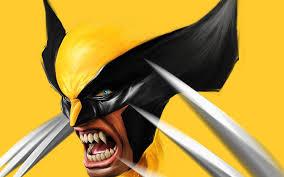 ilration anime wolverine yellow cartoon marvel ics claws adamantium puter wallpaper