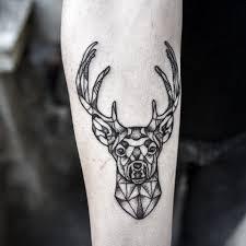 татуировка олень значение эскизы фото и видео Infotattoo