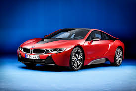 red bmw sports car