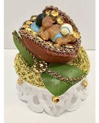 Amazing Deal On Ethnic Baby Boy In Baseball Glove Cake Favor