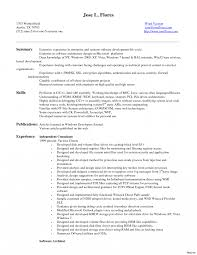 Android Developer Resume Samples Template Experience Sample