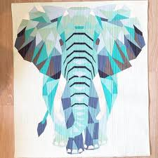 Best 25+ Foundation paper piecing ideas on Pinterest | Paper ... & Foundation Paper Piecing und Straight Line Quilting der Elefant nach einen  Schnittmuster von Violetcraft Adamdwight.com
