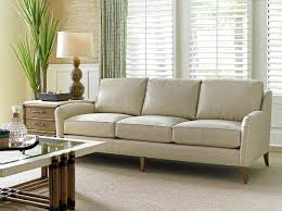 cream leather couches. Unique Couches Coconut Grove Leather Sofa In Cream TommyBahamaHome Tropical  LeatherFurniture In Couches N