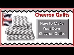 How to Make a Zig Zag Chevron Quilt Pattern with or without ... & How to Make a Zig Zag Chevron Quilt Pattern with or without Triangles Adamdwight.com