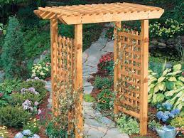 build a classic timber arbour