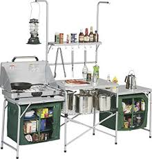 Outdoor Deluxe Portable Camping Kitchen With PVC Sink U0026 Drain Camping Kitchen Sink