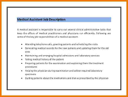 3+ medical assistant job description resume