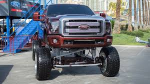 Skyjacked: The ridiculous lifted pickup trucks and SUVs of SEMA 2016