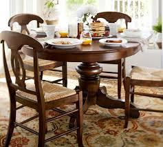 dining tables pottery barn table settings tivoli fixed pedestal