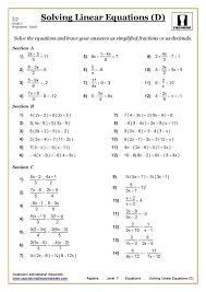 Maths Worksheets Year 7 - Criabooks : Criabooks