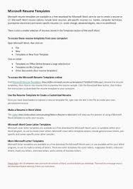 Free Microsoft Resume Template Beauteous Cv Templates Microsoft Word Exotic Resume Templates Cover Letter