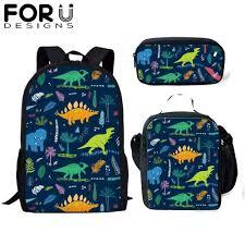 Small Children School Bags <b>3D Dinosaur</b> Animal Print Kids ...