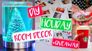 easy diy christmas room decorations. diy tumblr holiday room decor! christmas + giveaway! (closed) - youtube easy diy decorations a