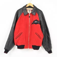 avi rex avirex sleeve leather wool award jacket award jacket men xl wak2886
