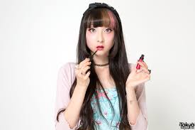 sweet pink brown makeup by rinrin doll