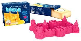 Купить Кинетический <b>песок ARHI</b>-<b>SAND</b> без формочек, розовый ...