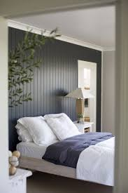 Perfect Dark Painted Wood Paneling Accent Wall