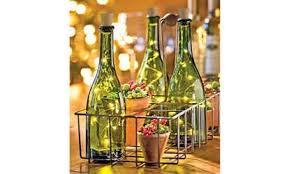 wine bottle lighting. Exellent Wine Shop Groupon LED Cork Wine Bottle Lights 3Pack On Lighting