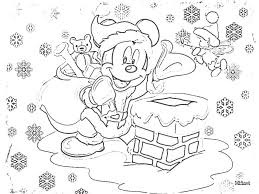 Small Picture Coloring Pages Mickey Mouse Christmas Coloring Pages For Kids