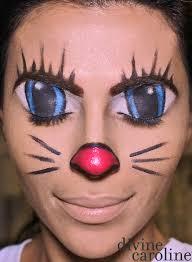 makeup how to illusion cartoon cat face