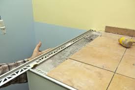 metal tile edging installation