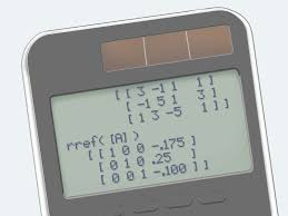 use a graphing calculator to solve a systems of equations