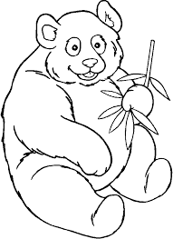 Disegni Per Bambini Da Stampare E Colorare Panda By Megghynet