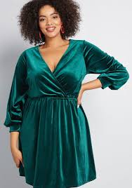 Luxe Structure Velvet Dress