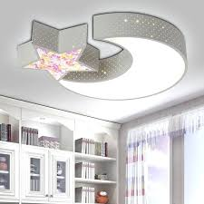 lighting for nursery room. Nursery Ceiling Light Lamp Creative Star Half Moon Led Child Baby . Lighting For Room